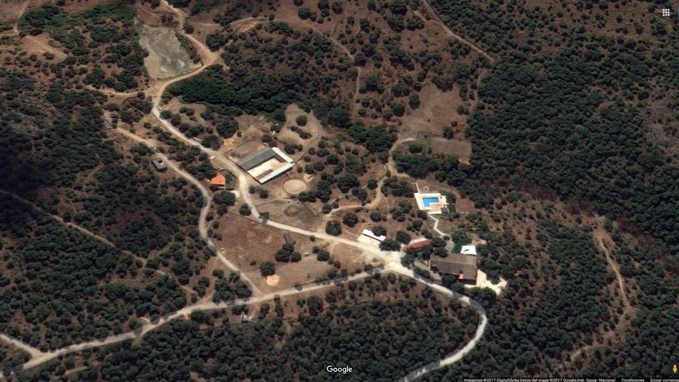 El 'Falcon Crest' de Granados en Ávila: 84 hectáreas, 24 caballos y seis 'quads'