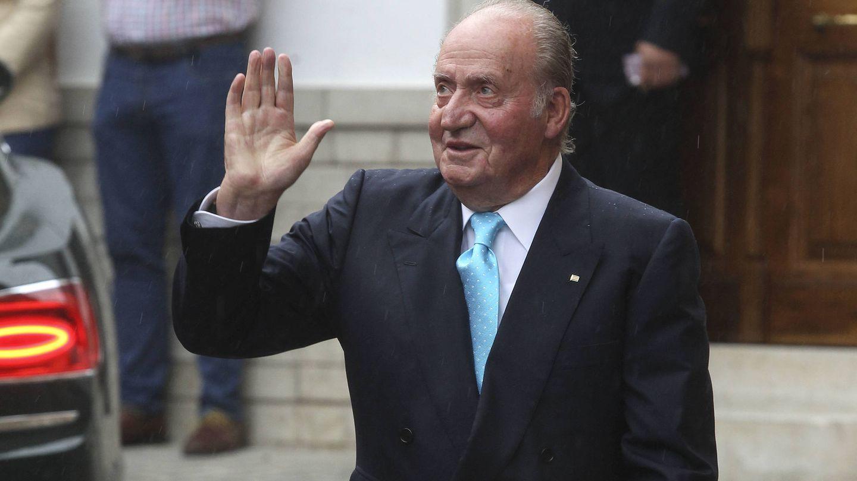 El rey Juan Carlos, en una boda en Granada. (EFE)