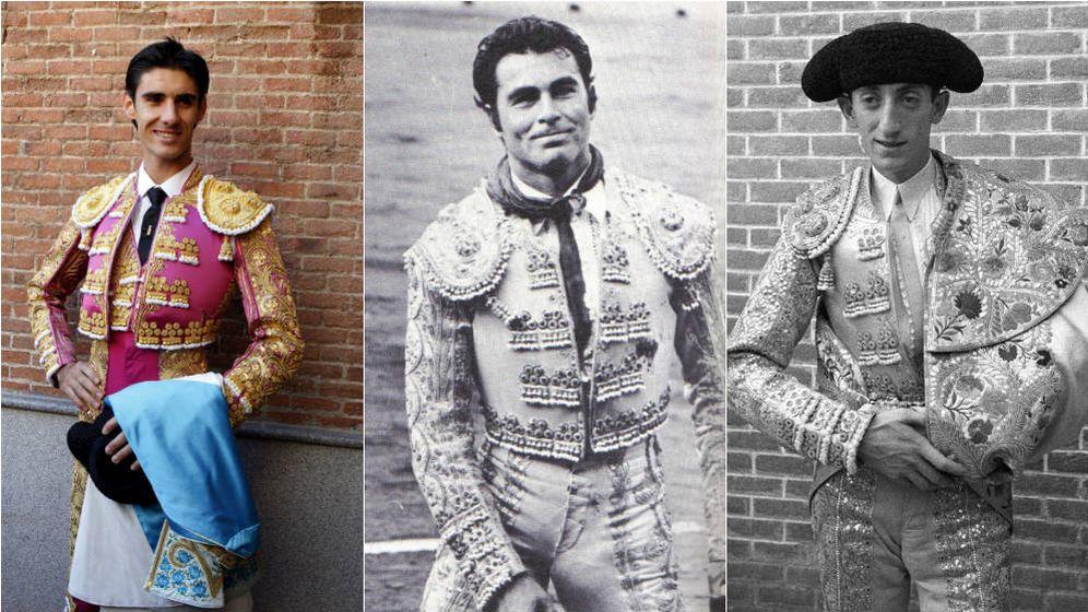 Foto: De izquierda a derecha: Víctor Barrio, Francisco Rivera 'Paquirri' y Manuel Rodríguez 'Manolete' (Agencias)