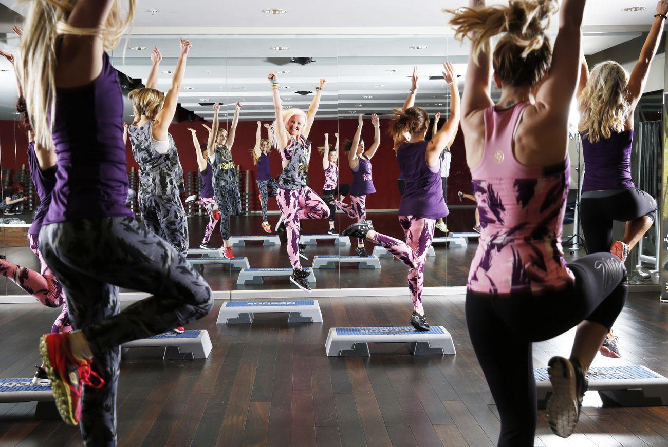 Foto: Baile y peldaños: probamos el Zumba® Step