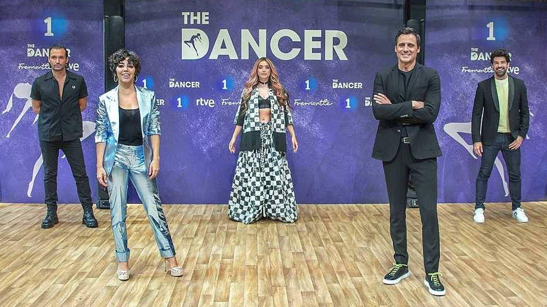 Los presentadores y capitanes de 'The Dancer'. (TVE)