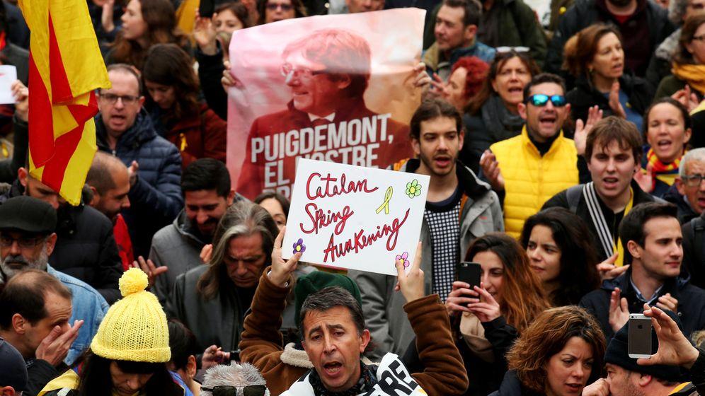 Foto: Manifestación de este sábado en Barcelona.