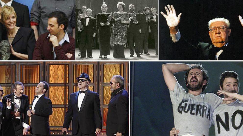 Los 'momentazos' de 30 años de Goya