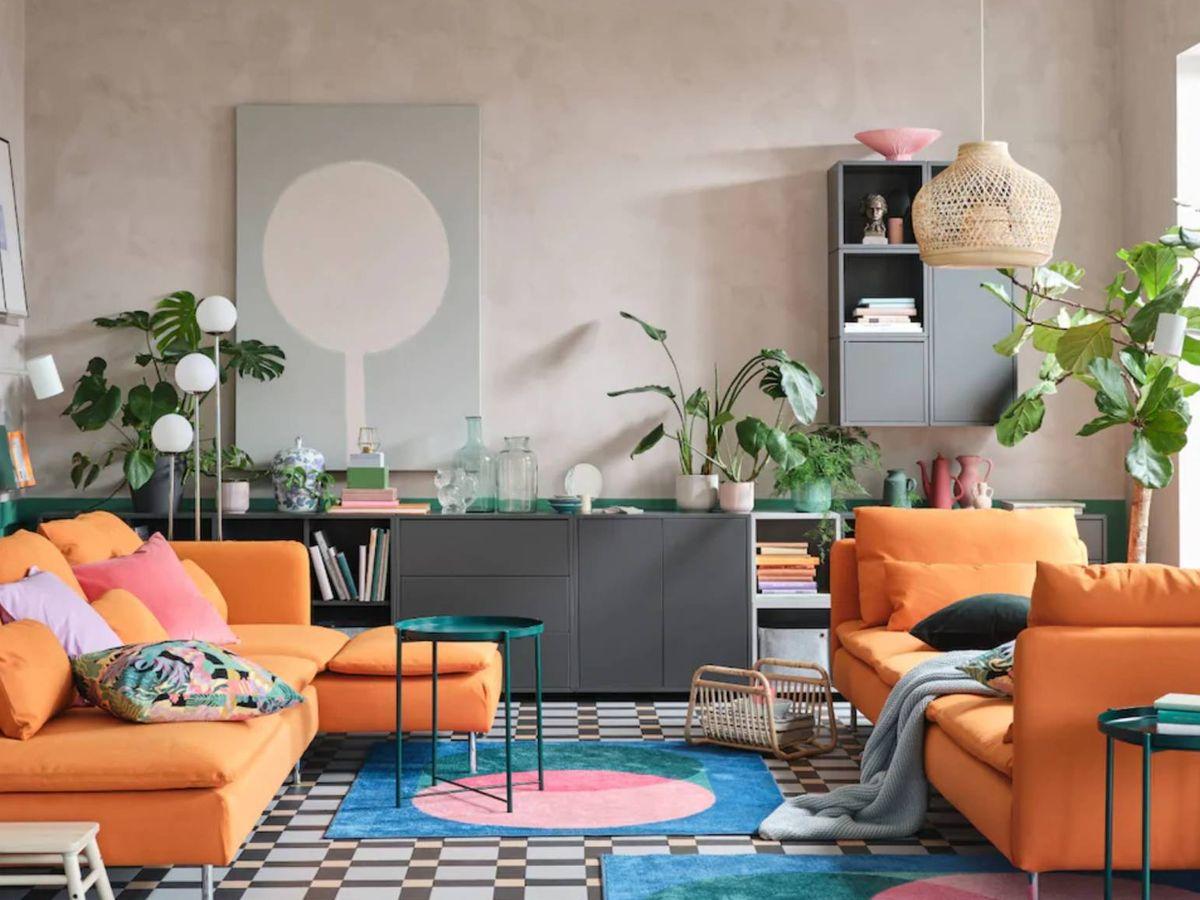 Foto: La elección de una buena iluminación es clave. (Cortesía Ikea)