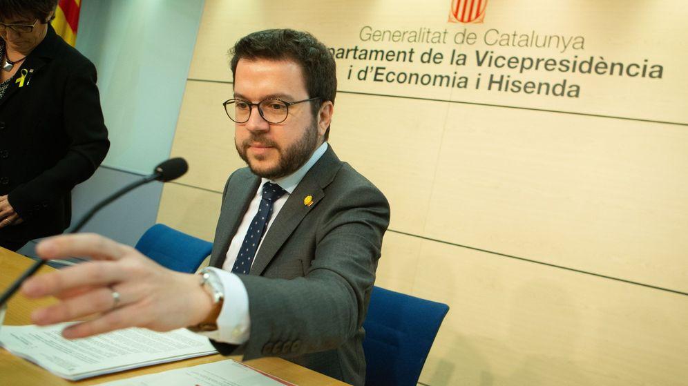 Foto: El vicepresidente y conseller de Economía de la Generalitat, Pere Aragonès. (EFE)