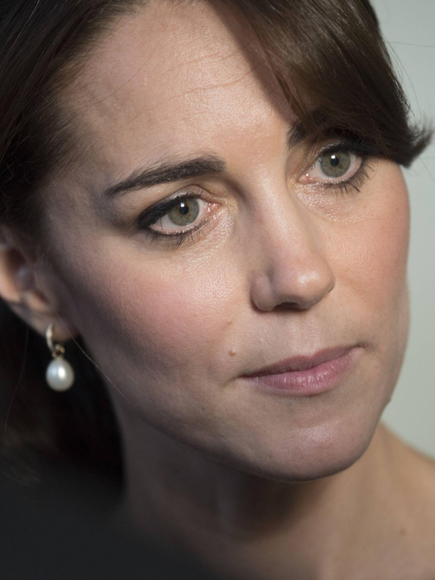Kate Middleton luce ahora unas mejillas sonrosadas muy naturales. (Cordon Press)