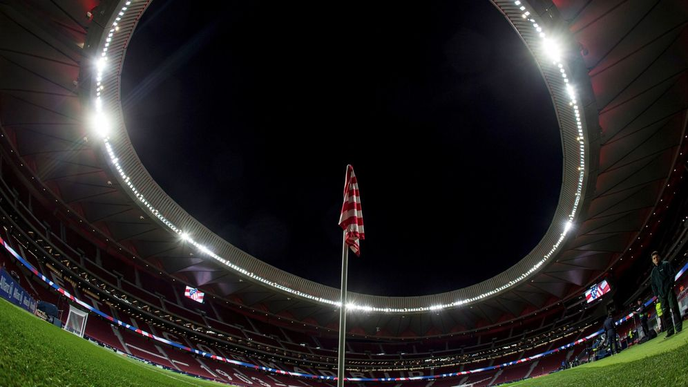 Foto: Vista del Wanda Metropolitano. (EFE)