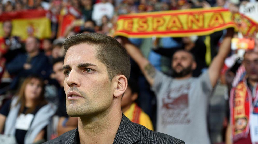 Foto: Robert Moreno, seleccionador nacional español. (Reuters)