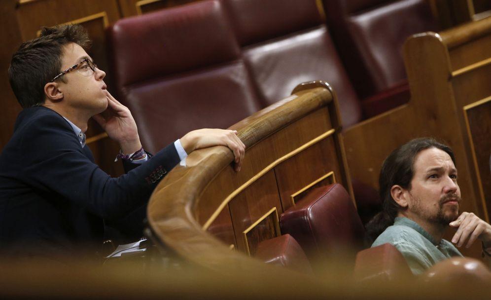 Foto: Iñigo Errejón y Pablo Iglesias. (EFE)