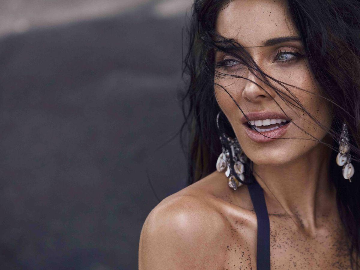 Foto: El selfie piscinero de Pilar Rubio que ha dejado a la vista sus trucos de maquillaje. (Selmark)