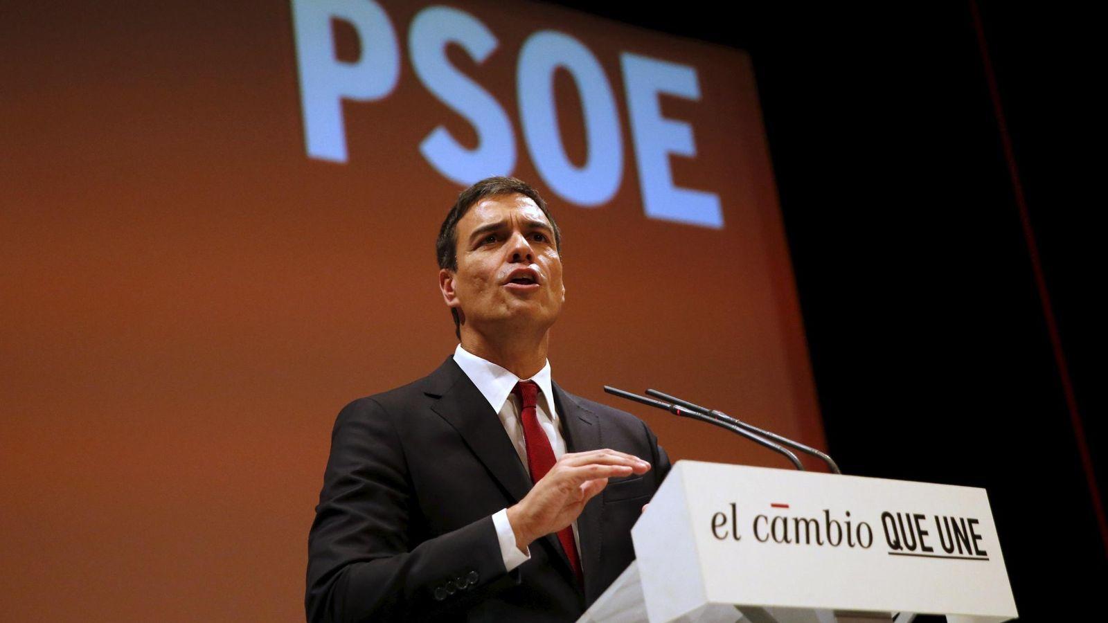 Foto: El secretario general del PSOE, Pedro Sánchez (Reuters)