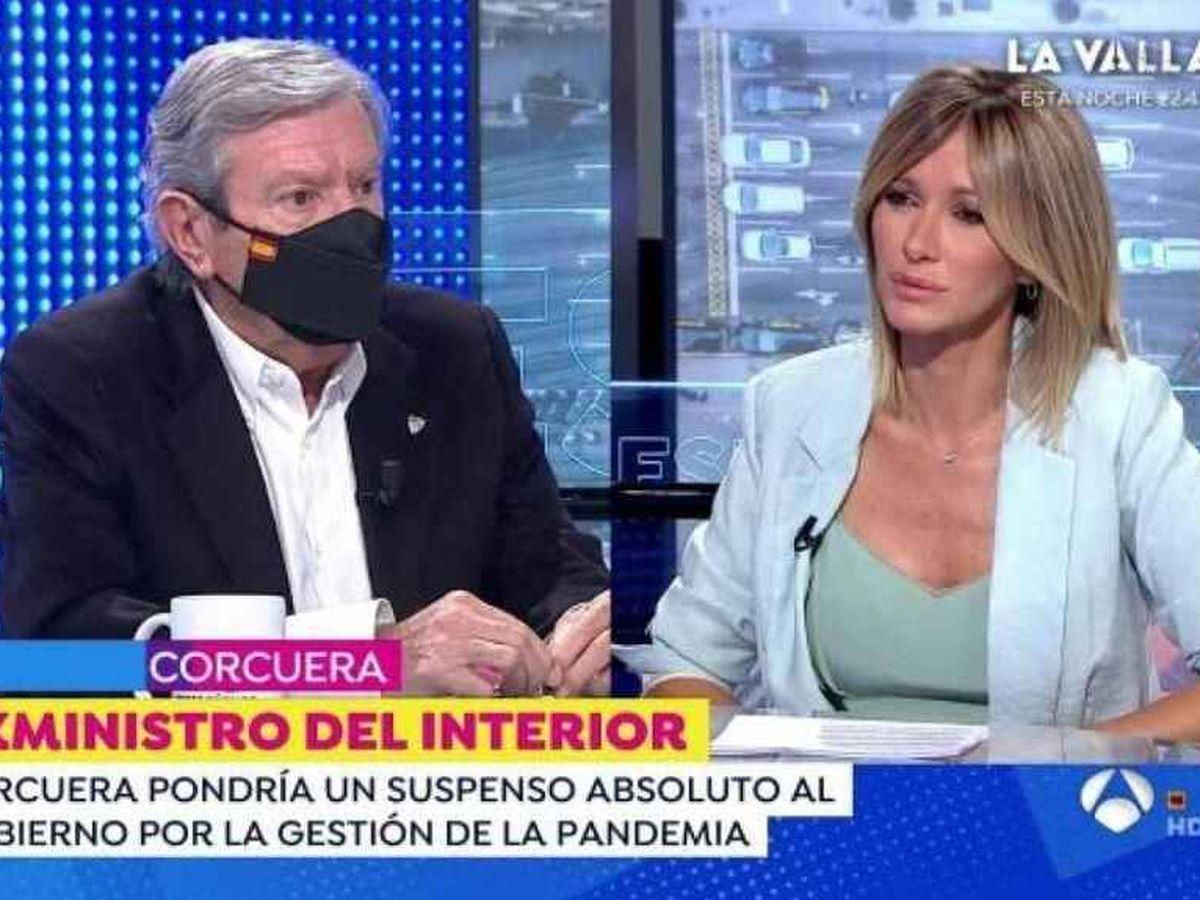 Foto: Corcuera y Griso, en 'Espejo público'. (Antena 3)
