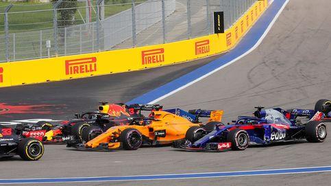 La  suerte que tuvo McLaren de que Toro Rosso y Honda no pasaron de la sexta vuelta