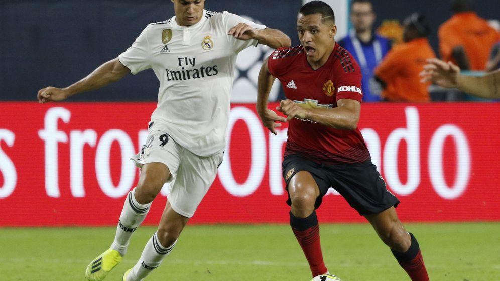 Foto: Reguilón ha sido titular en los dos primeros partidos de pretemporada del Real Madrid. (EFE)