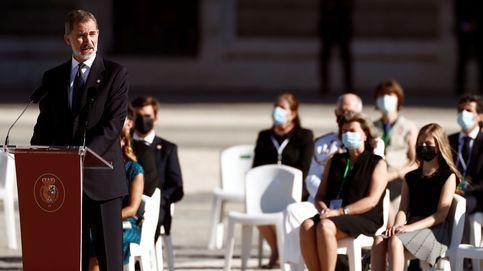 Álbum   Homenaje civil a las víctimas del coronavirus, en fotos