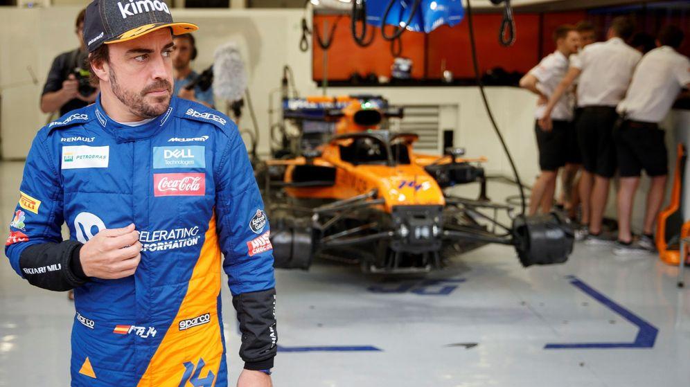 Foto: Fernando Alonso con una nueva posibilidad sobre la mesa. (EFE)