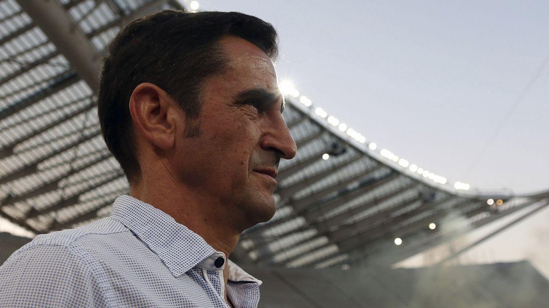 Manolo Jiménez, en Atenas, se ha proclamado campeón de Grecia con el AEK. (Efe)