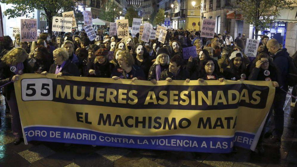 Foto: Foto de archivo de una manifestación contra la violencia de género el pasado enero. (EFE)