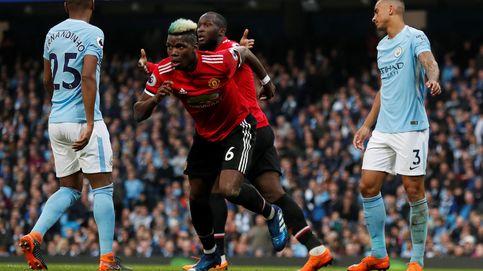 Pogba y Mourinho aplazan el título del City de Guardiola con una remontada