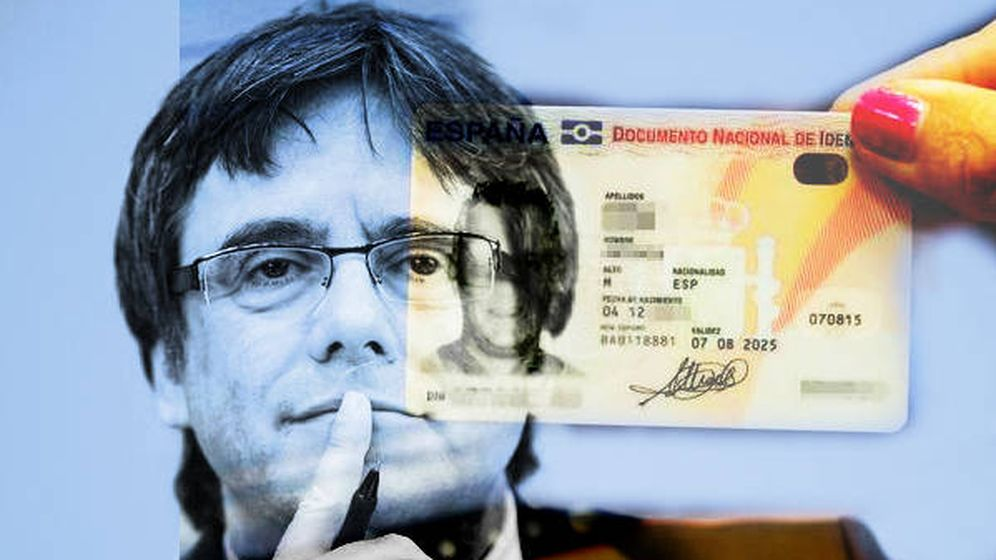 Foto: Carles Puigdemont. (Montaje: EC)