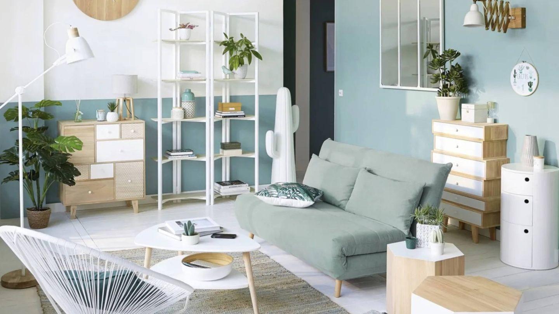 El sofá perfecto para un salón pequeño está en Maisons du Monde. (Cortesía)