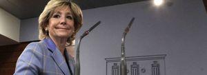 Foto: Aguirre: Se tienen que terminar los subsidios, subvenciones y mamandurrias