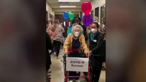 El emocionante reencuentro de una pareja de nonagenarios de Indianápolis tras superar el coronavirus