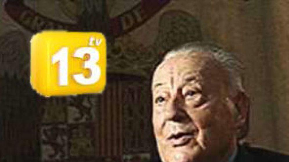 Foto: El canal católico 13tv rememora el 23-F con el falangista Blas Piñar