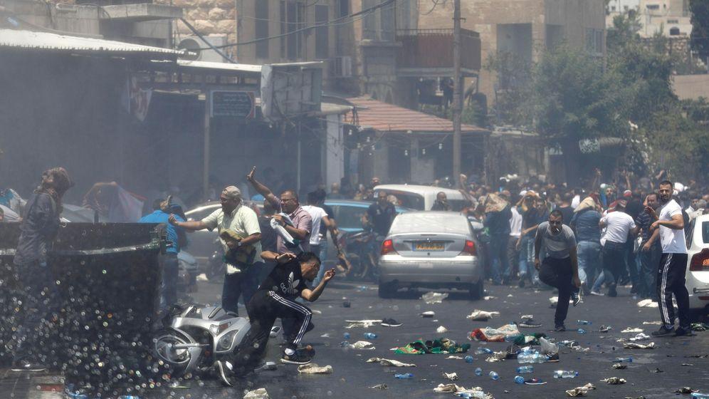 Foto: Muertos y heridos en los disturbios de Jerusalén Este