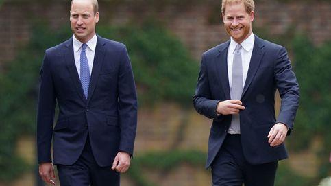 Foto a foto: El reencuentro de Harry y William, durante el homenaje a su madre