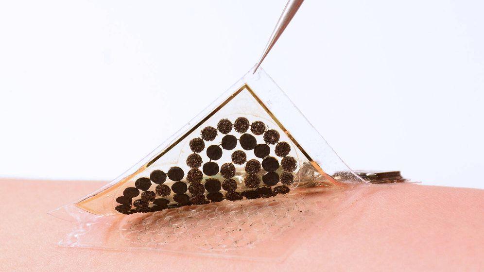 Foto: Piel electrónica. Foto: Caltech