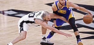 Post de Los Warriors aplastan a los Spurs de Pau Gasol: ¿el último partido de Ginóbili?