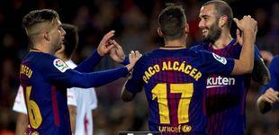 Post de A igualdad de esfuerzos nulos el Barça gana por aplastamiento al Murcia