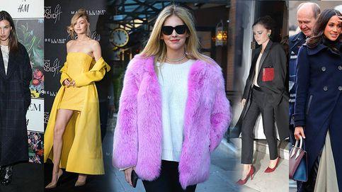 Meghan Markle, Chiara Ferragni y Gigi Hadid o el abrigo perfecto para llevar sobre tu look de fiesta