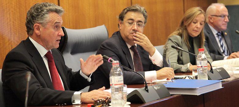 Foto: Paulino Plata, en primer plano, en una foto de archivo. (Efe)