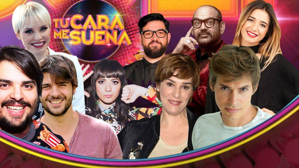 Foto: Concursantes de 'Tu cara me suena 7'. (Atresmedia Televisión)