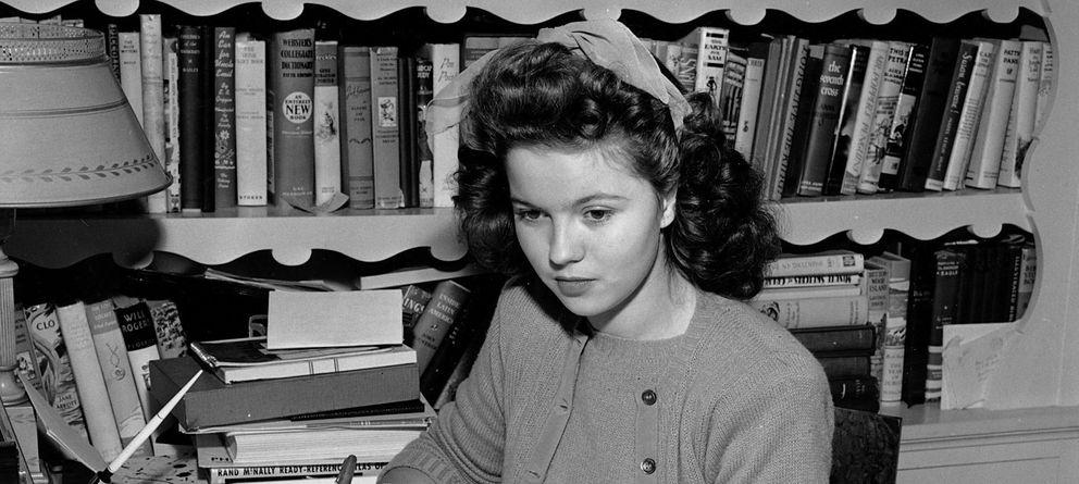 Foto: Shirley Temple en 1944