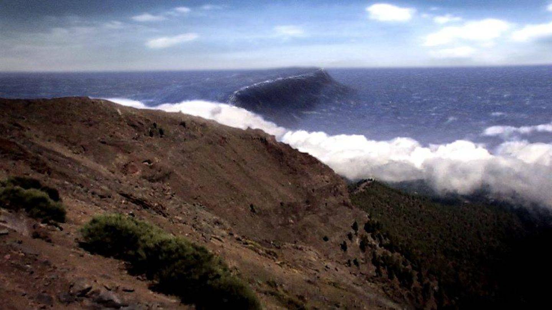 Otra de las imágenes del mega-tsunami generada por la BBC.