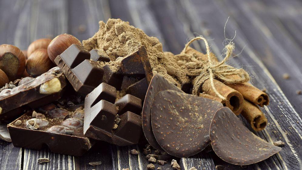 Foto: Chocolate con nueces. (iStock)
