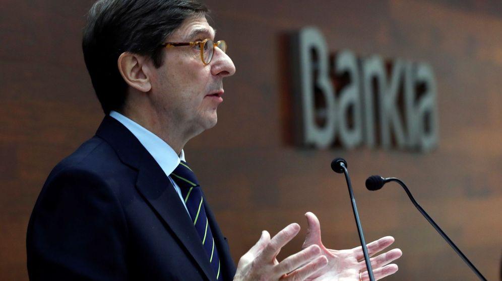 Foto: José Ignacio Goirigolzarri, presidente Bankia (Efe)