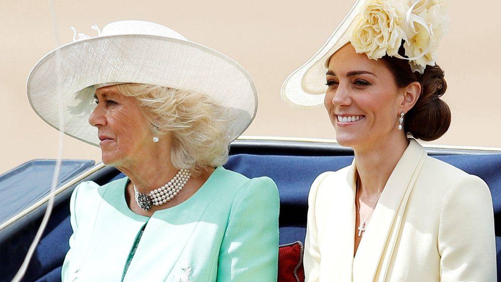 Foto: Camilla y Kate, en una imagen de archivo. (Getty)
