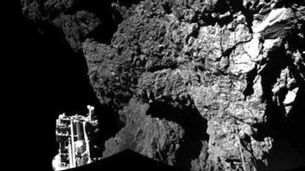 Philae se apaga tras enviar sus últimos datos sobre el cometa