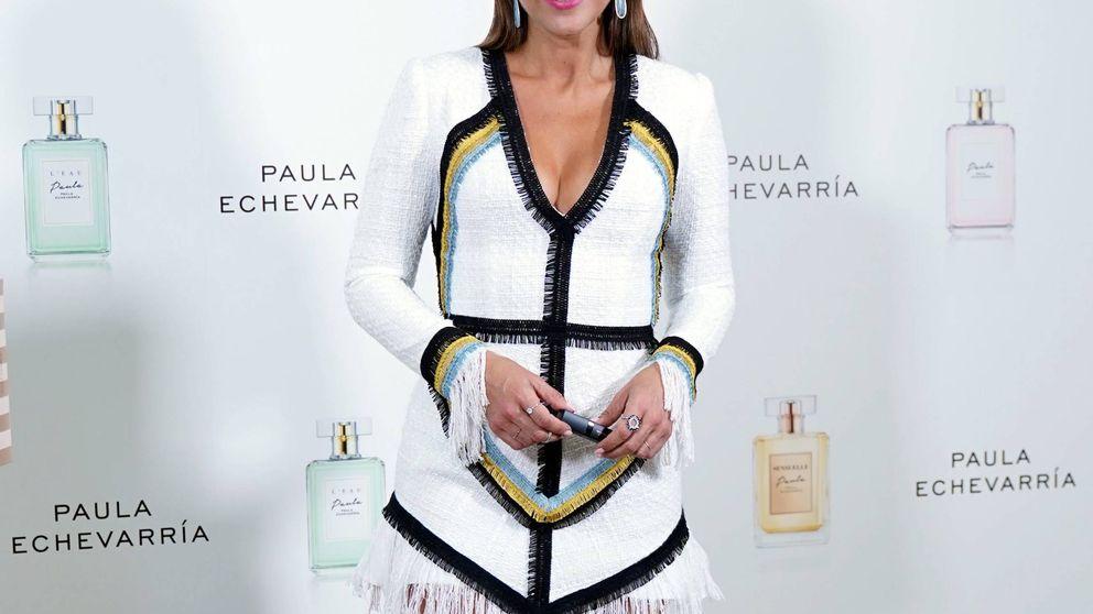 Paula Echevarría tiene la falda perfecta para ir a la oficina y salir el finde, y es de Stradivarius