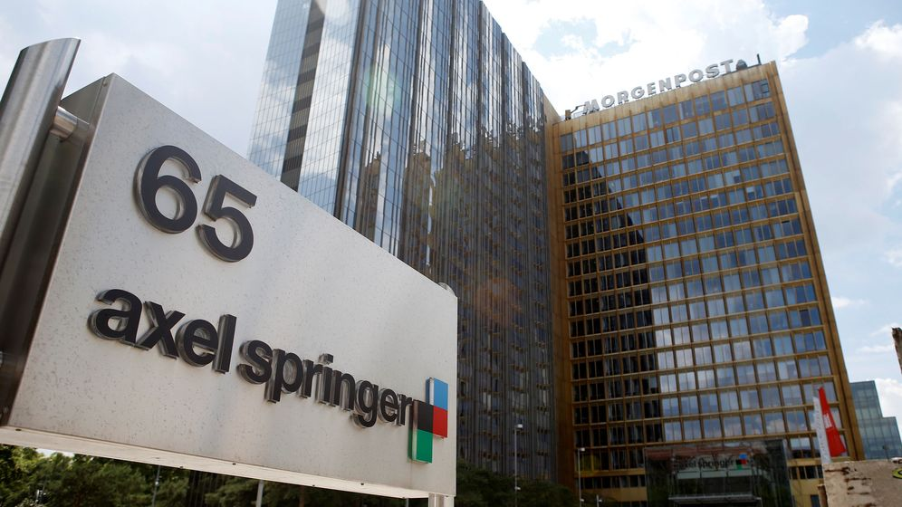 Foto: Sede de la editora alemana Axel Springer en Berlín, Alemania. (Reuters)