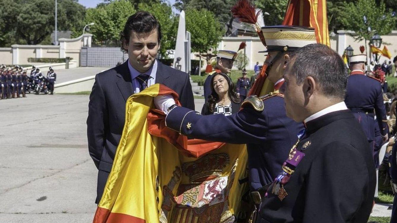 Foto: Juan José Franco Suelves, en una jura de bandera en 2015. (Facebook)
