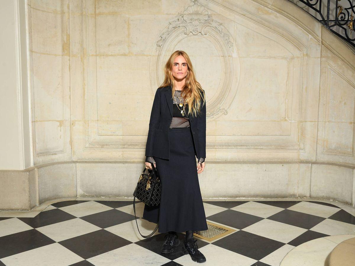 Foto: Blanca Miró vestida de Dior (Getty)