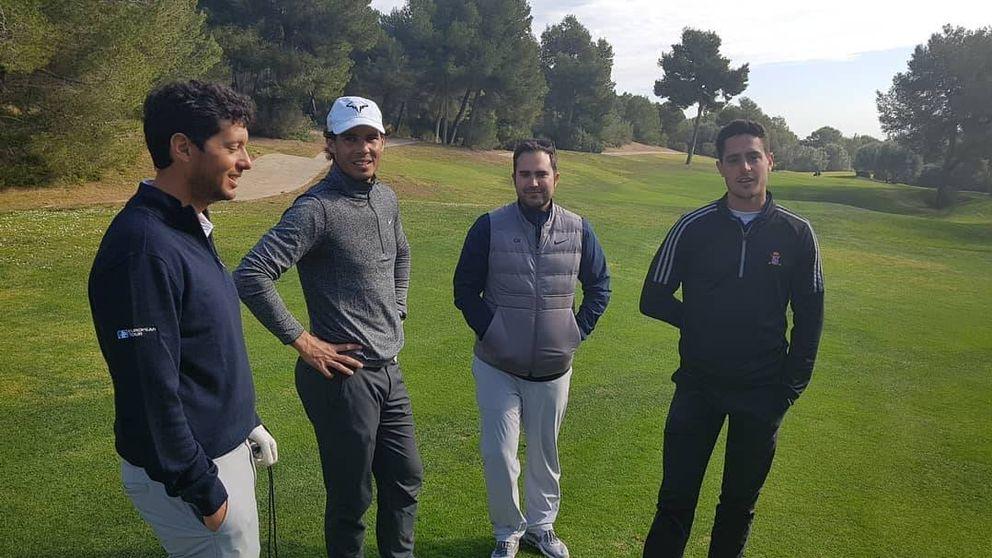 Rafa Nadal también brilla en el golf: subcampeón en un torneo en Baleares