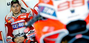 Post de El tirón de orejas del jefe de Ducati a Lorenzo como advertencia para renovar
