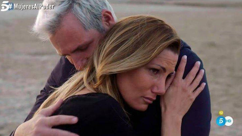Imagen de la pareja en el programa de Telecinco. (Mediaset)
