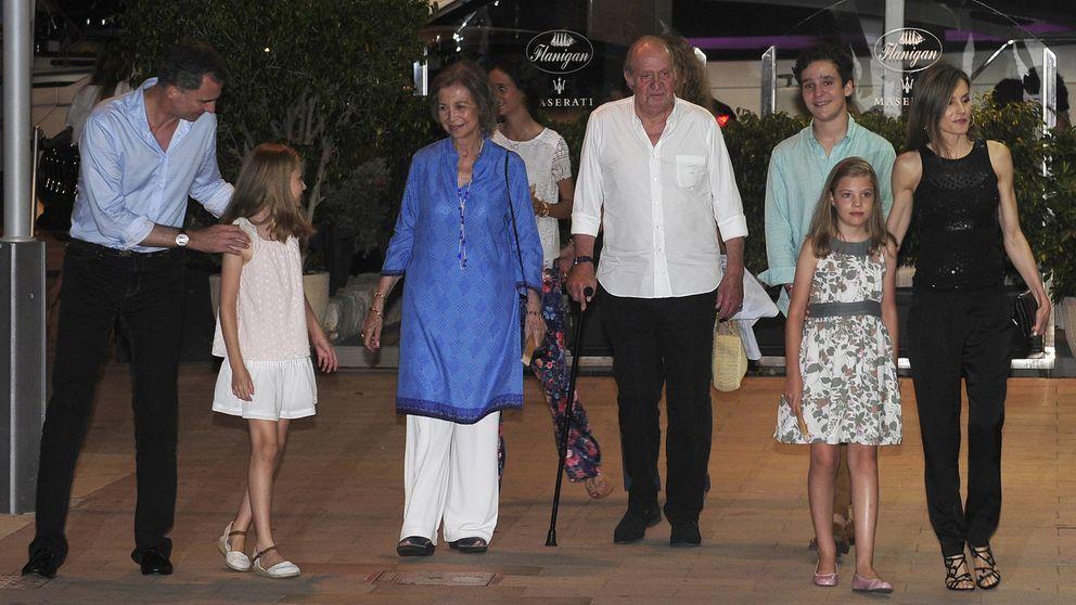 La inesperada reunión de la Familia Real en una cena celebrada en Mallorca